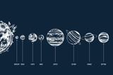 Solar system illustration - 224616209