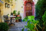 Beautiful streets in Gandria village near Lugano, canton of Ticino, Switzerland - 224618069