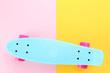 Quadro Skateboard on colorful background