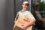 Delivery Boy At Your Door