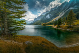 lake in the mountains - 224683861