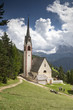 Quadro Die St. Jakob Kirche in St. Ulrich in Gröden, Südtirol