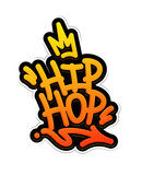 Hip Hop Tag Graffiti Style Label Lettering. Vector Illustration - 224717003