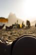 Quadro Bumbum de areia em ipanema