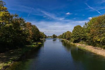 Hafenschleuse Hannover Limmer Stichkanal