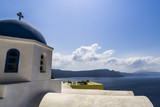 Greek Orthodox Church on Santorini island