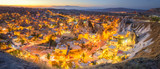 Goreme Panorama at Night - Turkey