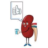 Kidney funny cartoon
