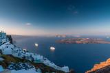 View over Imerovigli and Skaros in Santorini - 224985632