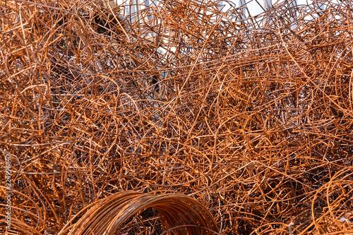 Metal gotowy do recyklingu