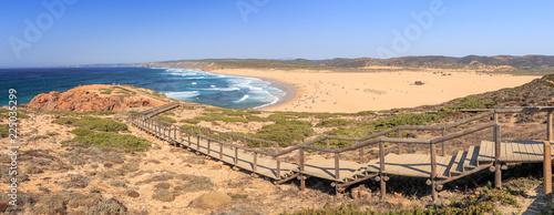 Surfer Beach at Portugals West Coast Praia Bordeira - 225035299