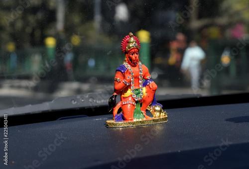 Foto Murales Lord Hanuman