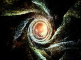 Swirl of Fractal Galaxy