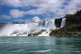 Bautiful view of Niagara Falls, New York State, USA