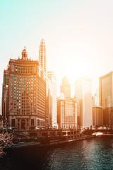 Skyline of Chicago © XtravaganT