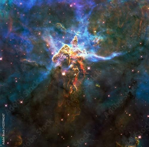 Carina Nebula Enhanced image Original Image From NASA - 225146267