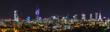 Warsaw skyline by night - 225147449