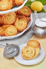 Italian Pinwheel Orange Pastries