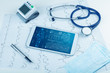 Medical full body screening software on tablet and healthcare devices