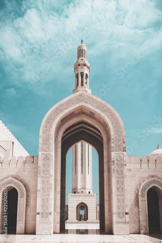 meczet w muscat, oman