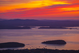 Sunrise over Cadillac Mountain in Acadia National Park