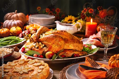 Thanksgiving turkey dinner - 225296261