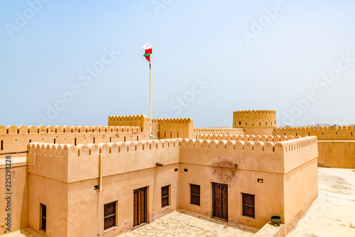 Sunaysilah Fort in Sur, Oman  It is located about 150 km southeast