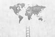 Leinwandbild Motiv ladder