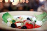 salad Mediterranean food diet / concept healthy food, Mediterranean salad, Greek diet - 225306667