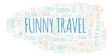 Funny Travel word cloud. - 225312053