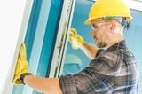 Window Installation by Worker - 225317288