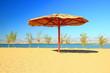 Sandy beach in Nin, near Zadar, touristic destination in Croatia - 225336057
