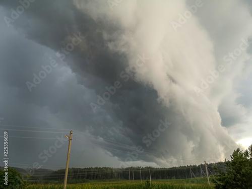 A dark rain cloud - 225356639