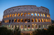 Quadro Colosseum at night