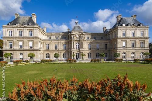 French Senate at Jardin du Luxembourg, Paris, France
