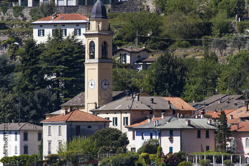 Church of San Giorgio in Laglio on Lake Como in Italy