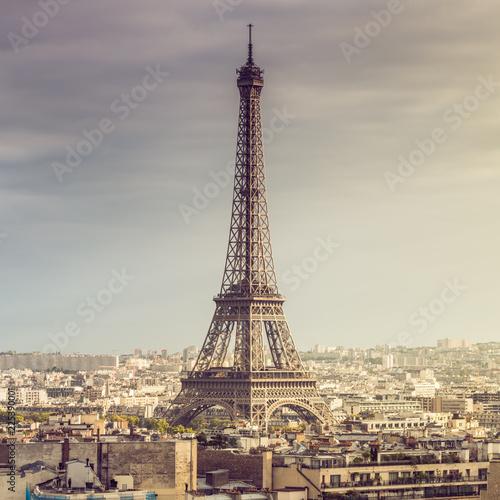 Paris Eiffel Tower, France - 225390001