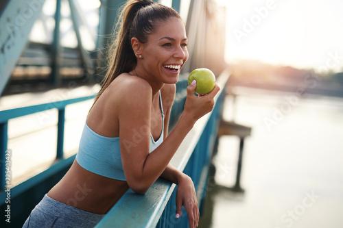 Foto Murales Running woman