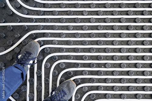 Under floor heating system - 225413628