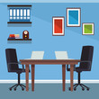 Office interior scenery - 225414225