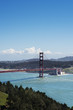 Golden Gate Bridge, San Francisco with bay and city views