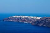Oia Coastline, Santorini Greece - 225438410