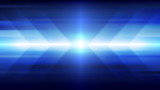 Abstract blue light and shade creative technology background. Vector illustration. - 225462238