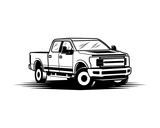 Ford F150 Pickup Truck Sign Symbol Logo Vector