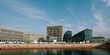Berlin main station district and Spree river
