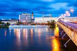 Linz, Danube river, Austria