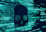 Hacking and Virus Attack Computer Code Background - 225524669
