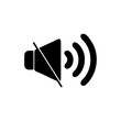 silent sound icon logo