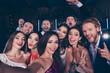 Leinwanddruck Bild - Group of diversity attractive, gorgeous, stylish, trendy friends