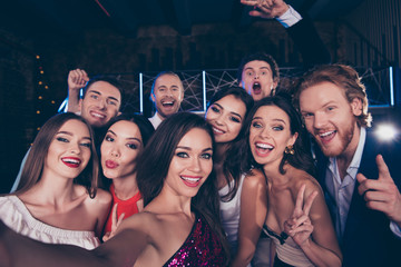 Group of diversity attractive, gorgeous, stylish, trendy friends